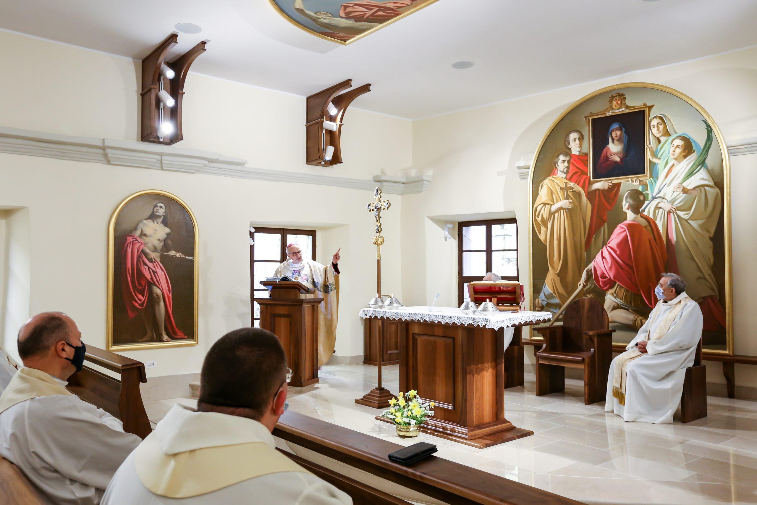 XX anniversario dell'Ordinazione episcopale dell'Arcivescovo | La celebrazione