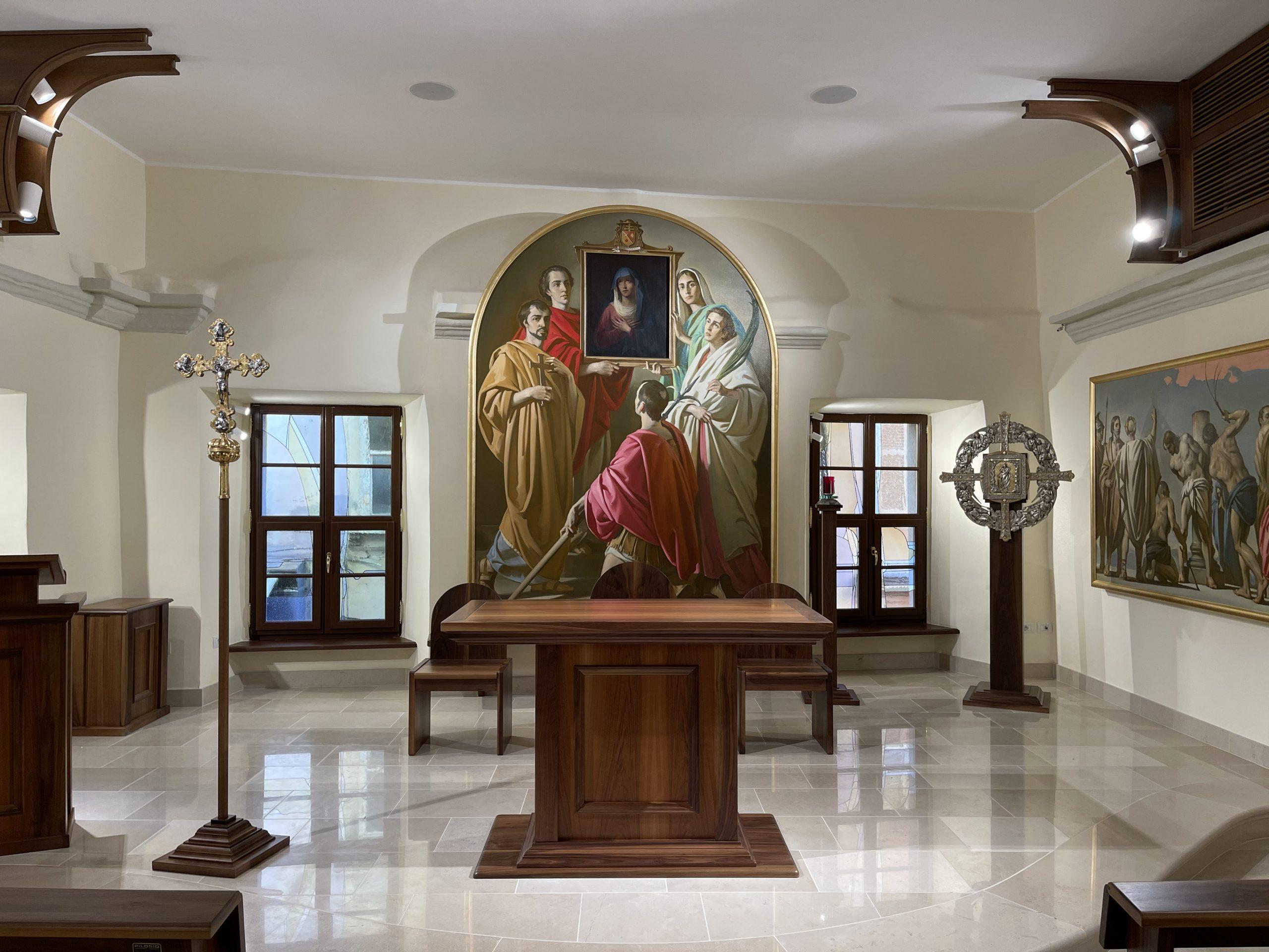 Cappella Madre della Riconciliazione – Il ciclo pittorico sulla riconciliazione