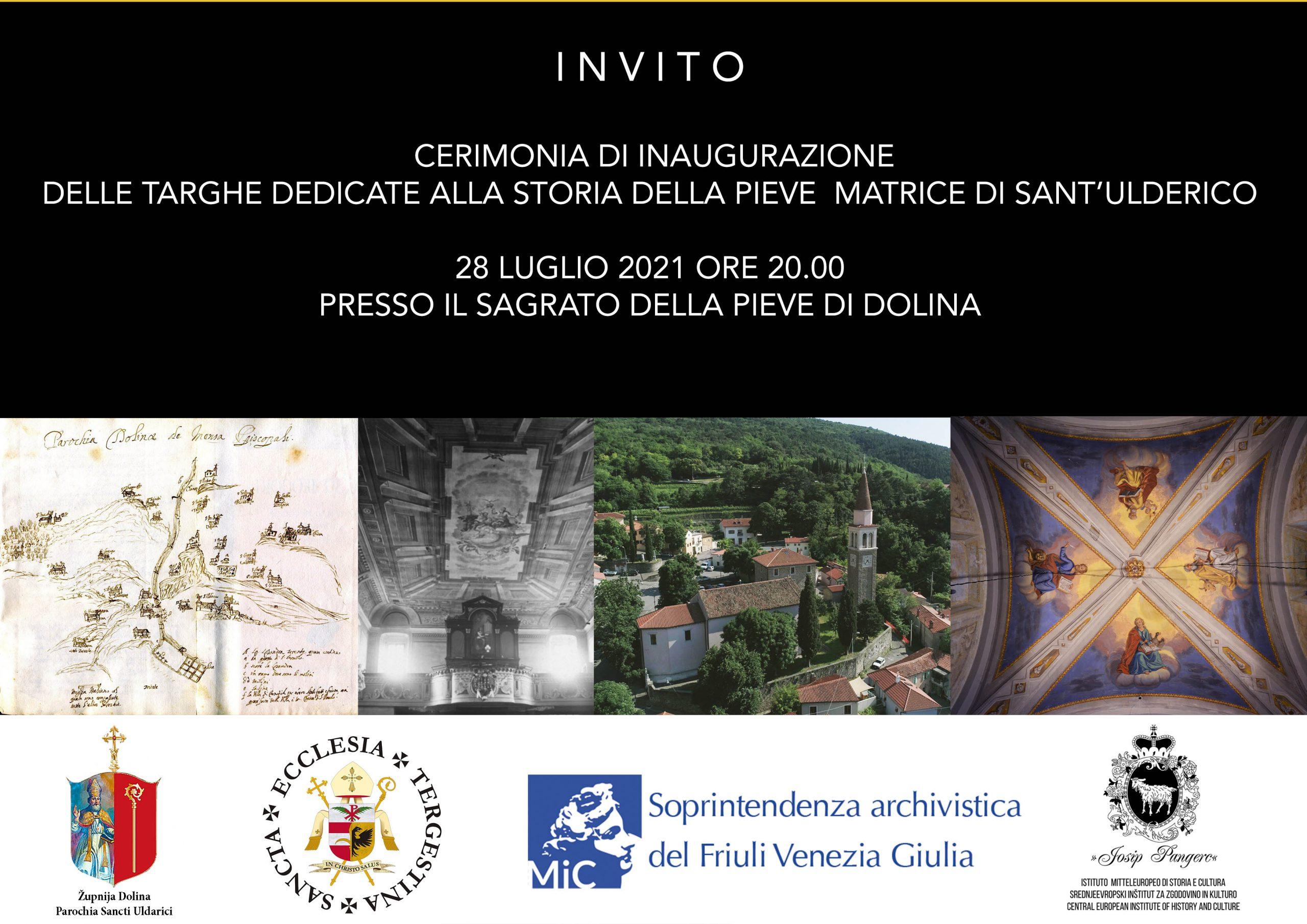Inaugurazione alla Pieve Matrice di sant'Ulderico